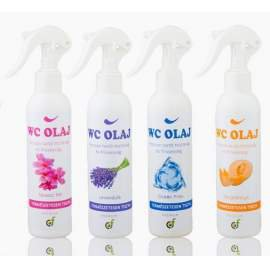 Hazai WC olaj prémium többféle illattal 200 ml.