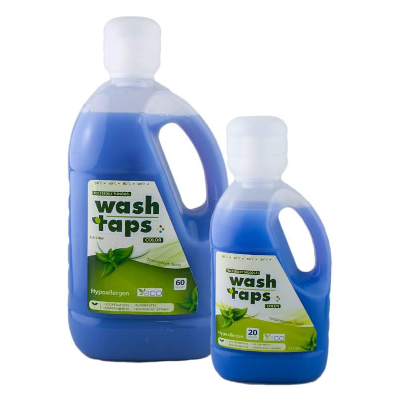 Wash Taps folyékony mosószer, mosógél color (lila) (1,5 liter)