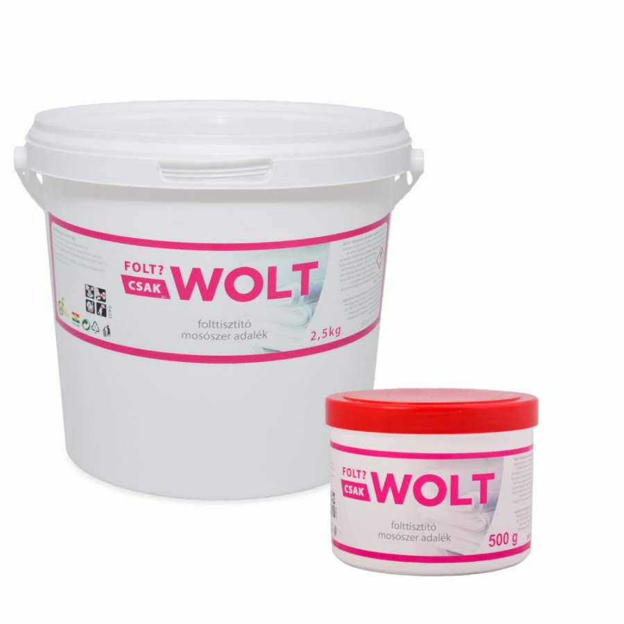Wolt folttisztító mosószer adalék (500 gramm)