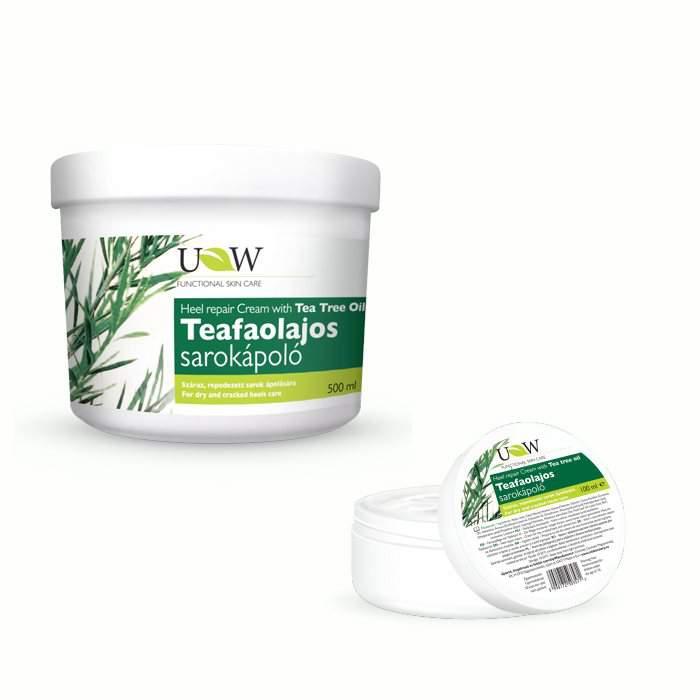 UW teafaolajos sarokápoló krém  (100 ml.)