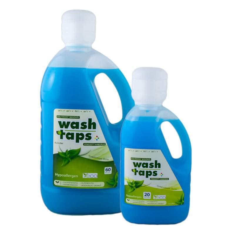 Wash Taps folyékony mosószer, mosógél color (kék) (1,5 liter)