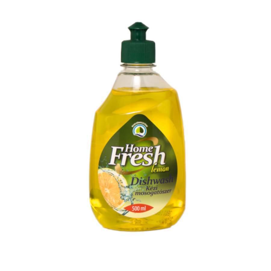 Home Fresh kézi mosogatószer citrom  (0,5 liter)